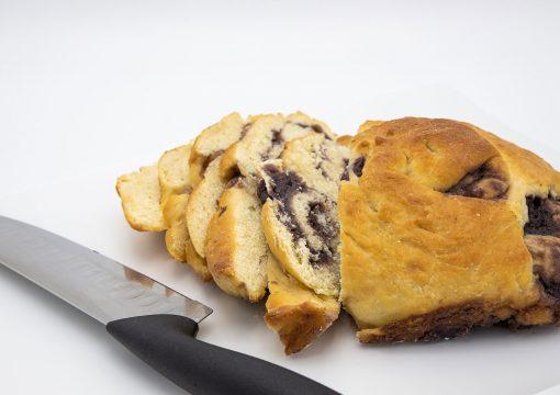 Taro Coconut Açaí Bread